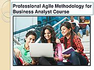 Advance Agile Methodology for Business Analyst Course