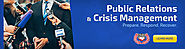 Website at http://theworldwideclassifieds.pressmania.com/ad/5536053/Public-Relations-Crisis-Management-Certification-...