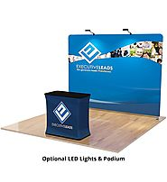 8ft Trade Show Displays & Pop Up Booth Stands - Order Online!