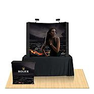Website at https://exhibitssolution.com/table-top-display-booths