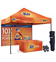 Best Offers on Custom Canopy Tents From Display Solution