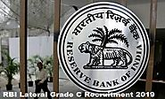 RBI Lateral Grade C Recruitment 2019
