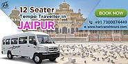 12 Seater Tempo Travller in Jaipur