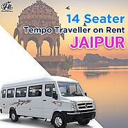 14 Seater Tempo Traveller on Rent Jaipur