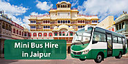 mini bus hire in jaipur