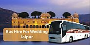 bus hire for wedding jaipur