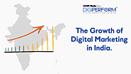 The growth of digital marketing in India! - Digiperform