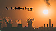 Best Air Pollution Essay For Kids