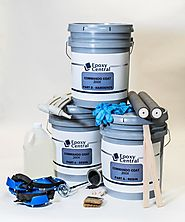 Commando Coat 200X - 3 Layer Epoxy Flooring Kit