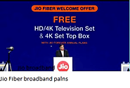 Jio GigaFiber broadband plans prices & details ; All You Need To Know |
