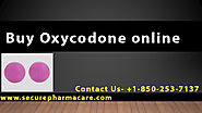 Buy Oxycodone online in usa without prescription