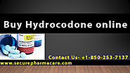 few simple step for Buying Hydrocodone online
