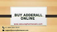 Few SimpPle Step for Buying Adderal online
