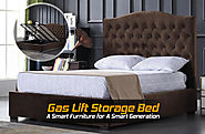 Gas Lift Storage Bed A Smart Furniture for A Smart Generation - Imperial Furniture
