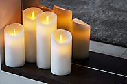 Beautifying with Flameless Candles
