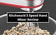 Kitchenaid KHM512ER 5 Speed Ultra Power Hand Mixer