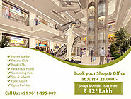 Affordable Commercial Retail Shops In Greater Noida West - GBS NOIDA