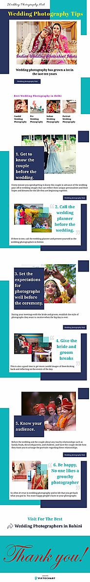 Wedding Photography Tips | Infographic