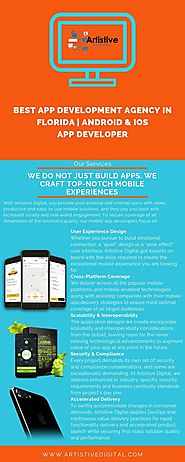 Best App Development Agency in Florida | Android & iOS App Developer