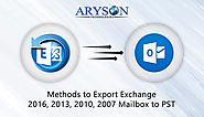 Hacks to Export Exchange 2016, 2013 & 2010 Mailbox to PST for free