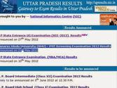 UP 12th Result 2014