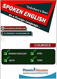 Learning English at Phoenix Education.
