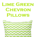 Best Lime Green Chevron Pillow | Chevron Decorative Throw Pillows