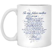 Mother In Law Touching Gift Ideas - To My Future Mother In Law Mug – Magic Proposal