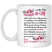 Touching Gift Ideas For Mother-in-law - To The Best Mother In Law Mug – Magic Proposal