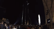 Elon Musk introduced a prototype of the reusable Starship spaceship