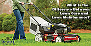 What Is the Difference Between Lawn Care and Lawn Maintenance?