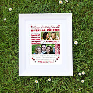 Buy personalised collage photo frames online -Domore