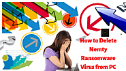 How to Delete Nemty Ransomware from PC - Fix Ransomware Malware