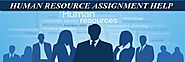 Human Resource Assignment Help by Experts