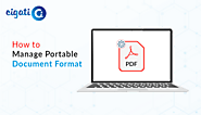Method to Manage Portable Document Format with Quick Tricks