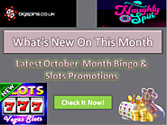 October Month Latest SLots & Bingo Promotions
