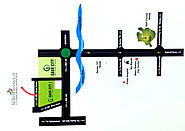 Gaur City Location - Galaxy North Avenue 2 - Gaur City 2 Noida Exten.