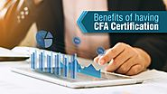 Benefits of Having CFA Certification | ASM CSIT