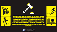 • Workers comp lawyer Philadelphia are highly trained and experienced professionals who are experts of their field an...