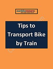 Guidelines for Bike Transport by Train