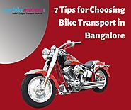 Tips for Bike Shifting in Bangalore