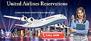 Reach us to book flights at united Airlines Reservations Number