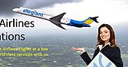 Contact us at Allegiant Airlines Reservations flight booking service