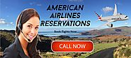 American Airlines Reservations number offers you cheap flights