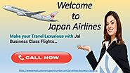 Want to fly with Jal Business Class Flights then kindly Book a Ticket to move