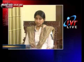 Ys bharathi exclusive interview with mahanews,YS. Bharati says in Maha News interview