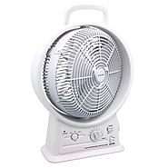 Gama Sonic Rechargeable 15-Inch Cooling Fan with AM/FM Radio #GS-26R