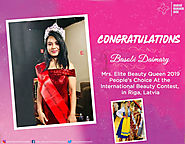 Basobi Daimary - Elite Beauty Queen India 2019