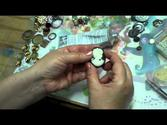 Making Embellished Cameo, Freeform Button Collage Jewelry