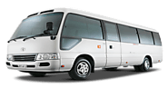 Toyota Coaster 4c For Rent | Rent a Car In Lahore | 0312-4343400
